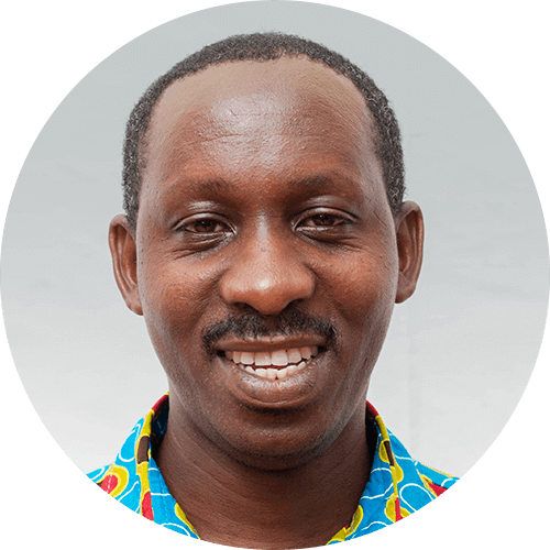 Israel Mussali, a geography quest designer for Opportunity Education Tanzania