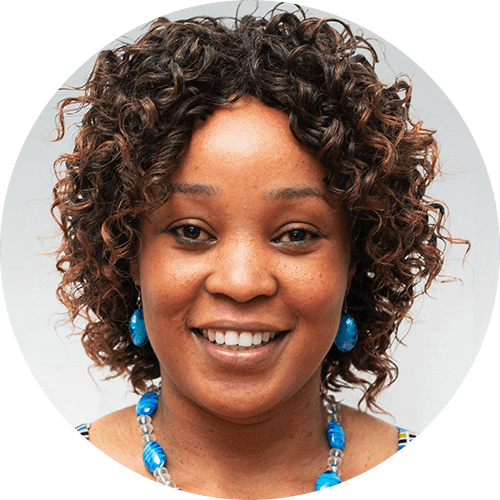 Janeth Mushi, a quest designer for Opportunity Education Tanzania