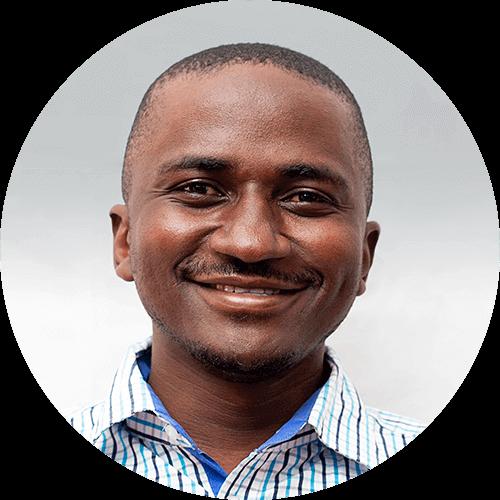 Sande Maleko, a quest designer for Opportunity Education Tanzania
