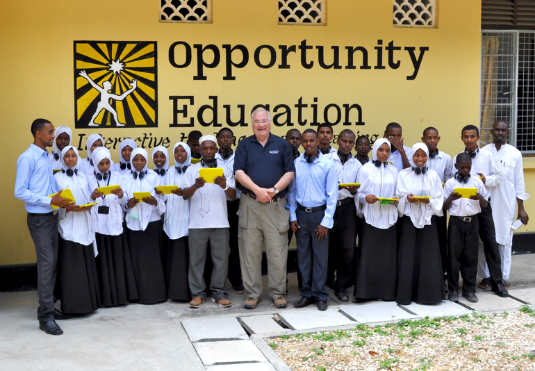 Joe Ricketts in East Africa