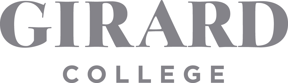 The logo for Girard College. It is a high school that has implemented Quest Forward Learning.