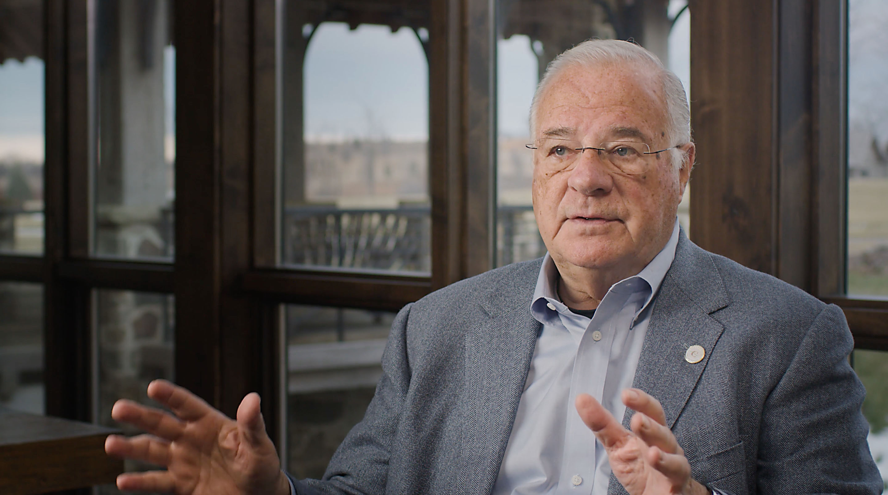 Joe Ricketts discusses his perspectives on education.