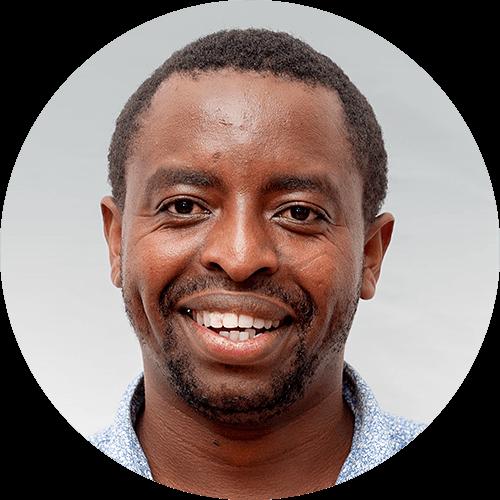 Daniel Ambrose, a quest designer for Opportunity Education Tanzania
