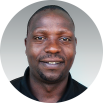 Fredy Mollel, a team member for Opportunity Education Tanzania