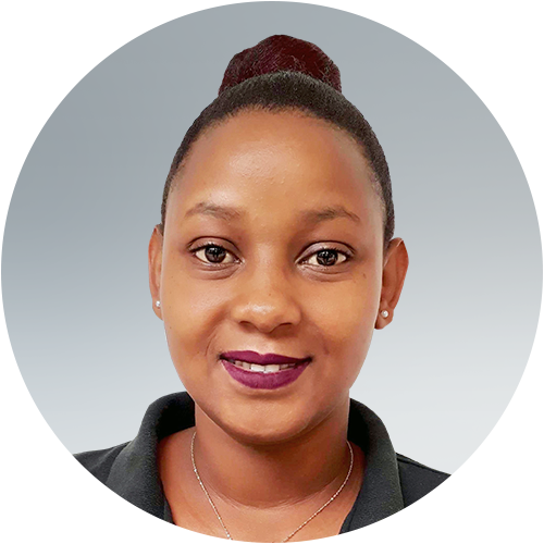 Glory Kilewo, a team member with Opportunity Education Tanzania