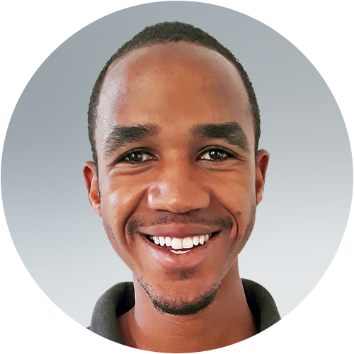 Jerome Massawe, a team member for Opportunity Education Tanzania