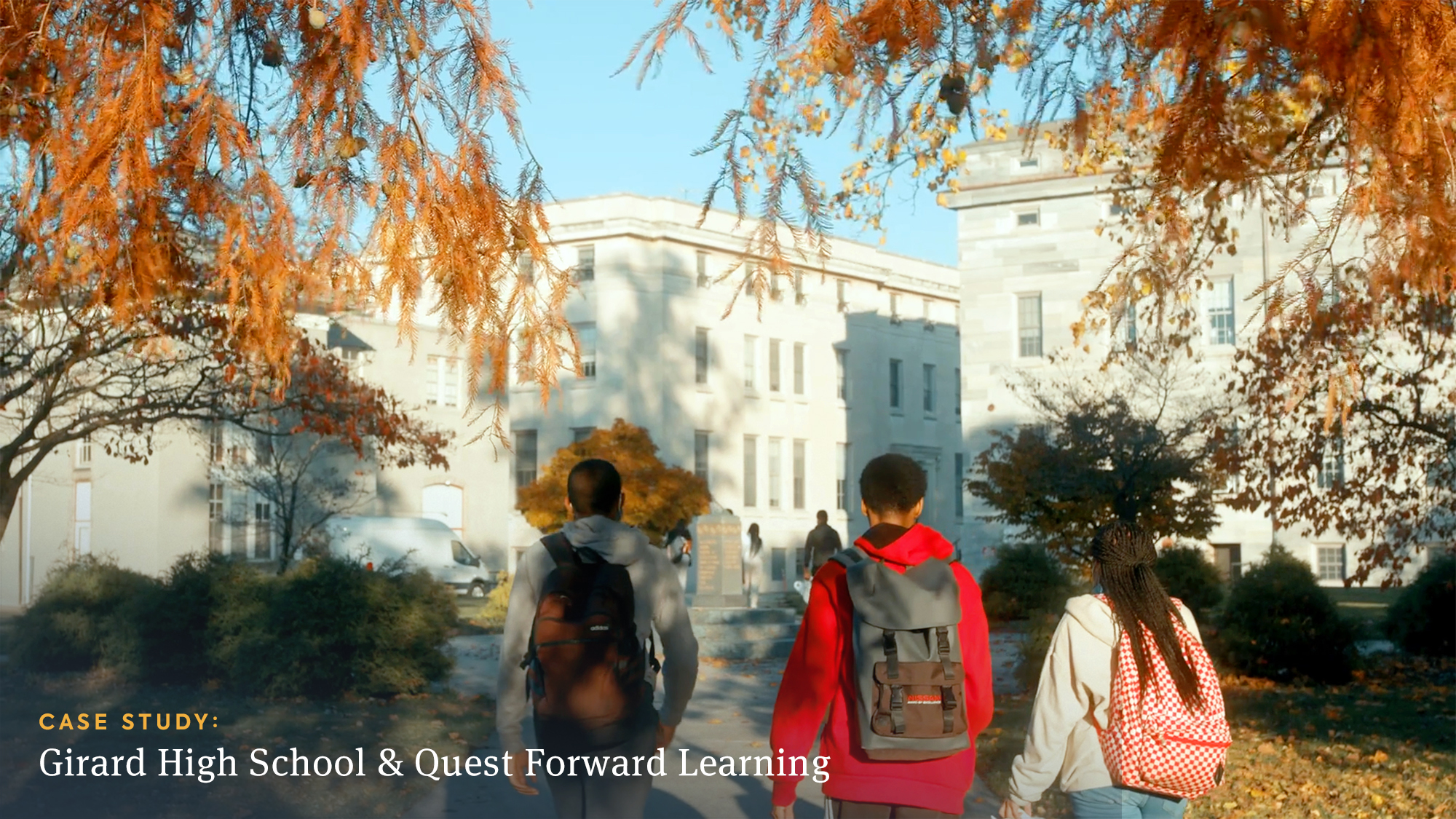 At Girard College High School, Quest Forward Learning has transformed how students and teachers work.